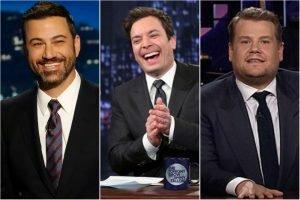 Jimmy Kimmel Jimmy Fallon James Corden