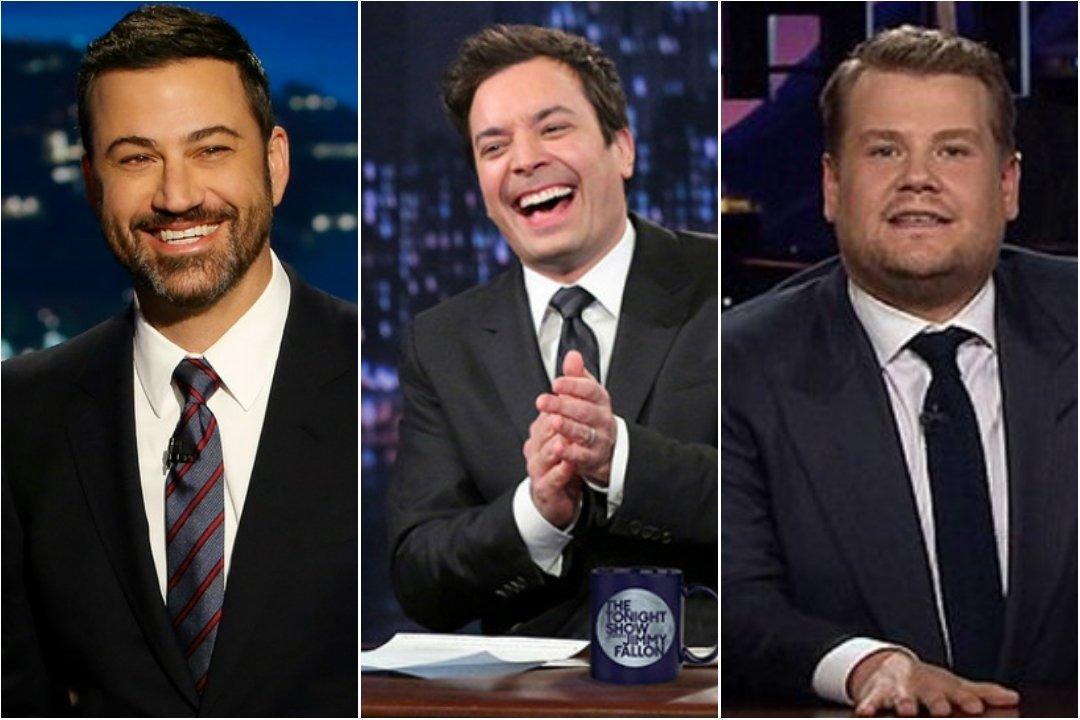 Jimmy Kimmel Jimmy Fallon James Corden